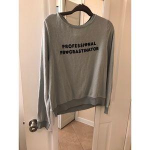 WILDFOX Professional Procrastinator Sweatshirt